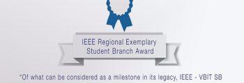 """IEEE Regional Exemplary Student Award''"