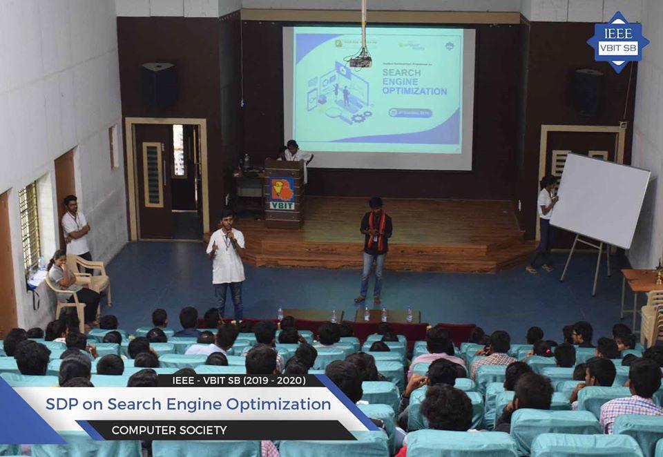 SDP on Search Engine Optimization